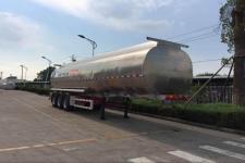 瑞江11.8米33.5吨3轴铝合金食用油运输半挂车(WL9406GSY)