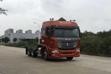 集瑞联合后双桥,后八轮危险品牵引车0马力(QCC4252D654W-2)