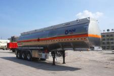 运力11.6米33.2吨3轴铝合金易燃液体罐式运输半挂车(LG9404GRY)