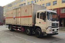 东风天龙腐蚀性物品厢式运输车厂家直销价格最低