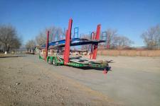 华盛源11.2米9.8吨2轴中置轴车辆运输挂车(JZR9180TCL)