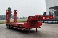 环陆12米32吨3轴低平板半挂车(LYT9400TDPB)