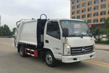 凯马蓝牌4方压缩式垃圾车价格13607286060