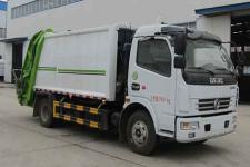 国六东风多利卡8方压缩式垃圾车价格