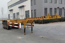 梁山平安14米34吨3轴集装箱运输半挂车(TCC9400TJZE45)