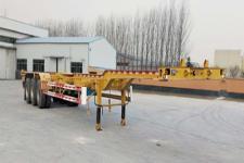 梁山平安14米34吨3轴危险品罐箱骨架运输半挂车(TCC9400TWYE)