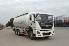 国六东风新款后八轮28方低密度粉粒物料运输车