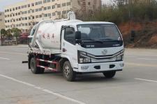 专威牌HTW5075GXWE6型吸污车