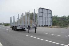 中集13米32吨3轴运材半挂车(ZJV9401TYASZ)