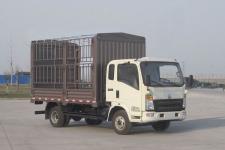 豪沃牌ZZ5047CCYF341CE143型仓栅式运输车