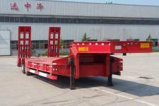 沃顺达10.5米26.5吨2轴低平板半挂车(DR9350TDP)