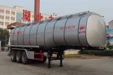 中汽力威12.1米29.6吨3轴食用油运输半挂车(HLW9400GSY)