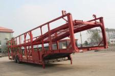 恒通梁山13.6米12.9吨2轴乘用车辆运输半挂车(CBZ9200TCC)