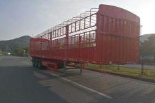 中集11.5米34.3吨3仓栅式运输半挂车