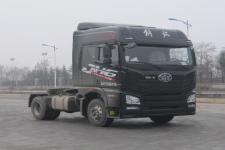 解放单桥平头柴油牵引车375马力(CA4180P26K15E5A80)