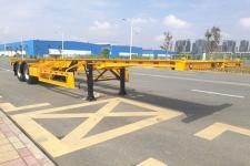 中集10.4米30.8吨2轴集装箱运输半挂车(ZJV9352TJZSZB)