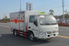 跃进小福星国五3米2易燃气体厢式运输车