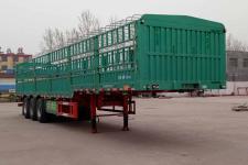 鲁际通12米33.3吨3仓栅式运输半挂车