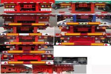 鲁际通牌LSJ9402CCY型仓栅式运输半挂车图片