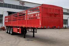 魯際通9米34.3噸3軸倉柵式運輸半掛車(LSJ9400CCY)