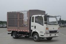 豪沃越野仓栅式运输车(ZZ2047CCYG332CE145)