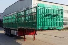 沃顺达12米33吨3仓栅式运输半挂车