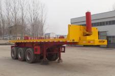 同強7.3米32.1噸3軸平板自卸半掛車(LJL9401ZZXP)