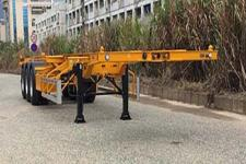 中集12.2米34噸3軸集裝箱運輸半掛車(ZJV9400TJZSZA)