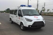 新特顺短轴中顶监护型运输型救护车