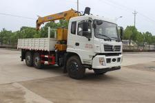东风后八轮12吨随车起重运输车价格13607286060
