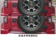 北京牌BJ2025F7VAB型越野乘用车图片