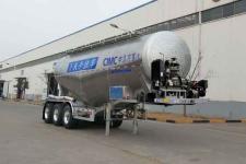 万事达8.6米34.2吨3轴下灰半挂车(SDW9408GXHA)
