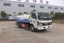 國六東風5噸灑水車價格