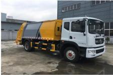 國六 東風D9新款10-14方壓縮式垃圾車廠家直銷
