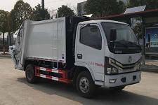 国六 6方东风多利卡压缩式垃圾车