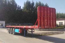 梁山平安12米33.7吨3轴平板运输半挂车(TCC9400TPB)