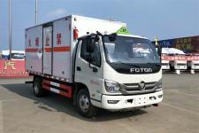 奧鈴國六4米2藍牌廢電池廢機油廂式運輸車