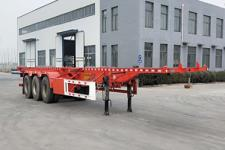 轩畅12.5米34吨3轴危险品罐箱骨架运输半挂车(JFH9400TWY)