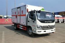 国六福田SZD5040XRYBJ6型易燃液体厢式运输车