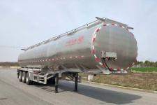 专致10.8米33.8吨3轴铝合金液态食品运输半挂车(YZZ9408GYSLE)