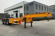 蒙凯10.9米34.6吨3轴集装箱运输半挂车(MK9400TJZGD)