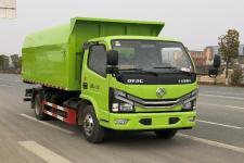 国六新款东风多利卡自卸式垃圾车