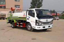 東風多利卡國六5方綠化噴灑車價格