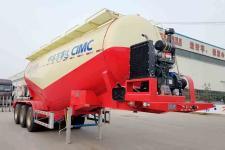 万事达9.1米33吨3轴中密度粉粒物料运输半挂车(SDW9405GFLA)