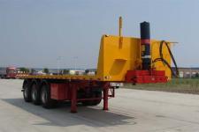 楚勝9米31.7噸3軸平板自卸半掛車(CSC9400ZZXP)