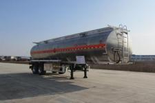 楚胜牌CSC9351GYYLD型铝合金运油半挂车