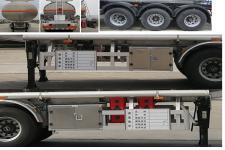 楚勝牌CSC9400GRYL型鋁合金易燃液體罐式運輸半掛車圖片