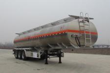 楚胜12米33吨3轴铝合金运油半挂车(CSC9404GYYLE)