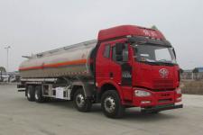 解放J6前四后八25吨铝合金运油车价格