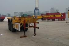 梁山天通12.3米34.5噸3軸集裝箱運輸半掛車(LML9400TJZ)
